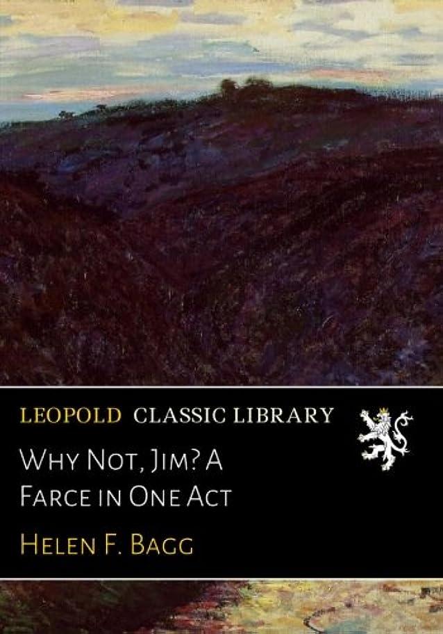 エピソード盗難太鼓腹Why Not, Jim? A Farce in One Act