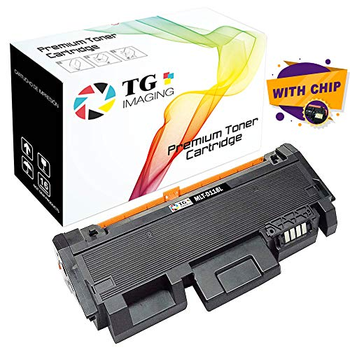 TG Imaging (1-Pack, Black) Compatible Toner Cartridge Replacement for Samsung MLTD118L MLT-D118L Work in Xpress M3015DW M3065FW Printers (4,000 Pages)