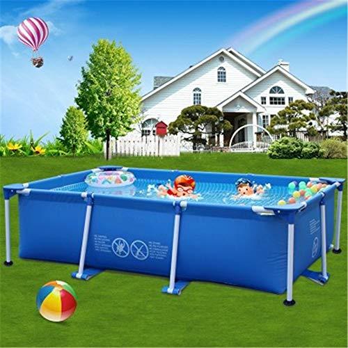 Grote Children's Garden Pool Buitenzwembad Children's Home Kleuterbad Groot Vierkant Baby Zwembad 86.61In * 59.05In * 23.62In