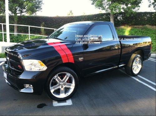 UNDERGROUND DESIGNS 2009 2010 2011 2012 2013 Dodge Ram R/T Long Hash Mark Fender & Hood Stripes Stripe Decal Decals