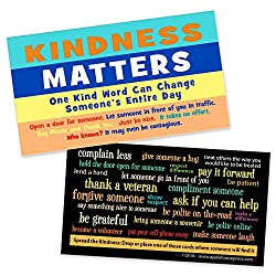 Image: Kindness Matters Cards | Box of 100 | Kindness Is Contagious Challenge Card