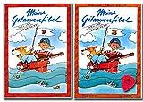 Meine Guitarfibel Band 1 y 2 – Libro de aprendizaje para guitarra acústica con partituras, púa – 9783931788704, 9783931788711