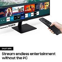 "Samsung Smart Monitor M5 (S27AM502), Flat 27"", 16:9, 1920x1080 (Full HD), Piattaforma Smart TV (Amazon Video, Netflix), Airplay, Mirroring, Office 365, Wireless Dex, Casse Integrate, WiFi, HDMI, USB #7"