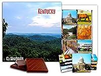 """DA CHOCOLATE キャンディ スーベニア """"ケンタッキー """" KENTUCKY チョコレートセット 5×5一箱 (Forest)"""
