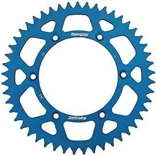SuperSprox RAL-245-49-BLU Blue Aluminum Sprocket
