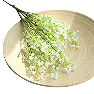Silk Flower Arrangements Sumerlly Artificial Flower Baby Breath for Wedding Decor Home Decorative Flower Gypsophila