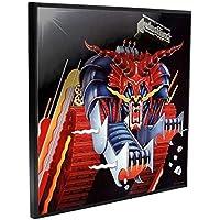 Weird Or Wonderful Álbum de Fotos de Metal con Licencia Oficial de Judas Priest, 32 cm, para Colgar en la Pared, diseño de Nemesis Now