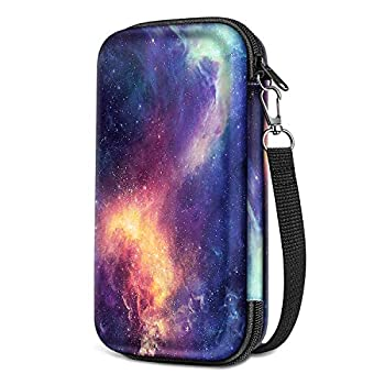 Graphing Calculator Carrying Case for TI-84 Plus CE Fintie Hard EVA Shockproof Protective Box for TI-84 Plus/TI-83 Plus CE/Casio fx-9750GII  Galaxy