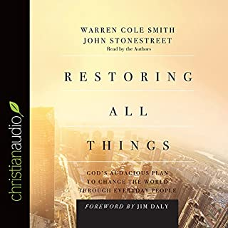 Restoring All Things audiobook cover art
