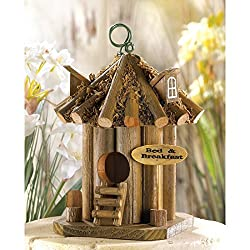 cute birdhouse design - bed and breakfast theme