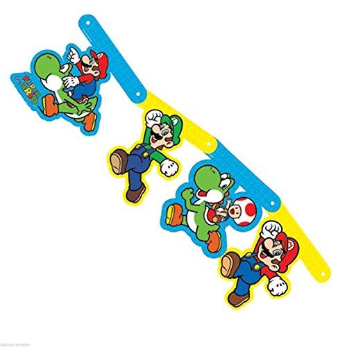 Guirlande super Mario bros (1,50 m)
