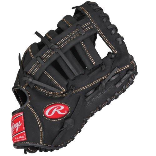 Rawlings RFBRB-3/0 Renegade Series Baseball First Base Mitt, Regular, Single-Post Double-Bar Web, 12-1/2 Inch