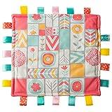 Taggies Original Blanket, 12 x 12-Inches, Comfy Color Blocks