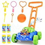 Sotodik Bubble Lawn Mower for Kids - Automatic Bubble Machine with Music Sounds