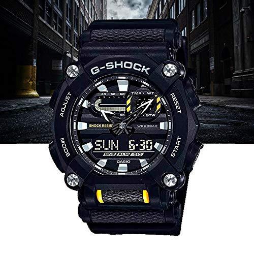 Relógio CASIO G-SHOCK masculino preto GA-900-1ADR