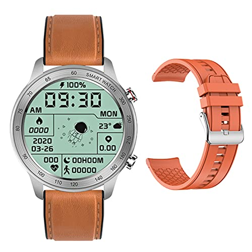ZGNB MX5 Smart Watch, Chiamata Bluetooth, Riproduzione Musicale MTE, IP68 Impermeabile, Monitor per La Pressione Sanguigna, Fai da Te Smartwatch PK TK88 per Android iOS,C