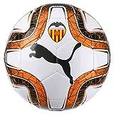 Puma VCF Final 6 Ball Balón, Adultos Unisex, White Black-Vibrant Orange (Multicolor), 5