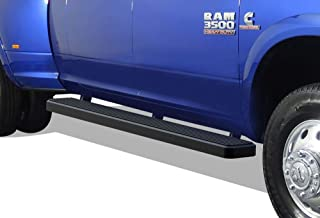APS iBoard (Black Powder Coated 6 inches) Running Boards Nerf Bars Side Steps Step Rails Compatible with 2010-2019 Ram 2500 3500 Mega Cab Pickup 4-Door