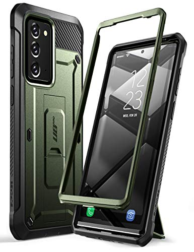 SUPCASE Unicorn Beetle Pro Series Case for Samsung Galaxy Note 20 (2020 Release), Full-Body Rugged Holster & Kickstand Without Built-in Screen Protector (Guldan)