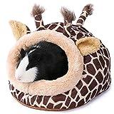 JanYoo Calentador de erizo suministros juguetes casa jaula accesorios cama saco de dormir