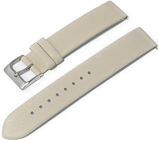 CASSIS カシス カーフ 時計ベルト 裏面防水素材 LOIRE ロワール 16mm クリーム 交換工具付き X1026H19029016