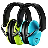 Product Image of the Mpow Kids Ear Protection 2 Pack, NRR 25dB Noise Reduction, Hearing Protection...