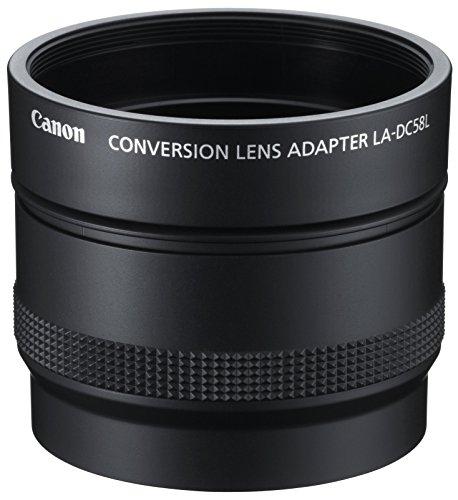 Canon LA-DC58L Lens Adapter für PowerShot G15 schwarz