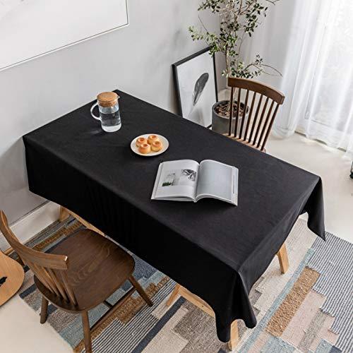 YOUYUANF Mantel Mantel Rectangular Mesa de Comedor Mantel, la última tecnología se Puede Lavar color145x200cm