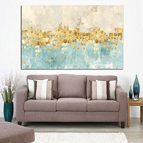 N / A HD drucken Moderne abstrakte Geldwellen Ölgemälde Poster auf Leinwand Moderne Kunst Wandbild für Wohnzimmer rahmenlose dekorative Malerei A38 70x100cm