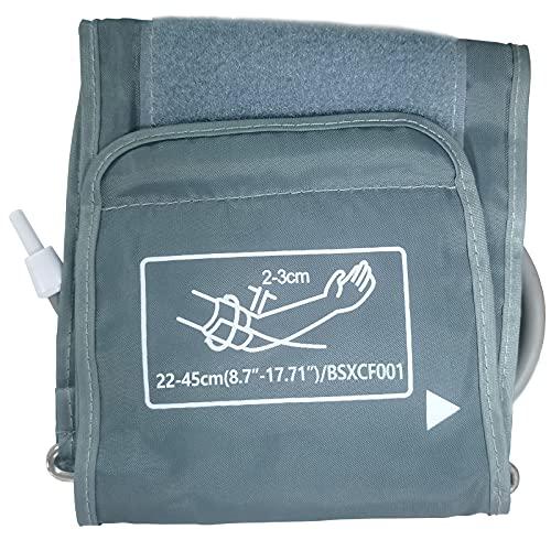 Annsky Extra große Manschette für Blutdruckmessgerät, 22-45cm Armumfang Manschette für BSX Blutdruckmaschine