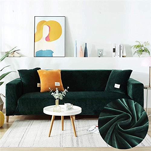 Funda de sofá de Felpa, Funda de sofá de Dos Asientos, para Protector de Muebles de Sala, 1 2 3 4 plazas