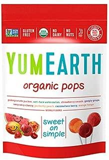Yummyearth Organic Lollipops, Assorted Flavors, 3 oz (14 Pops)