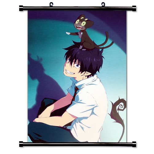Blue Exorcist Anime Fabric Wall Scroll Poster (16 x 24) Inches