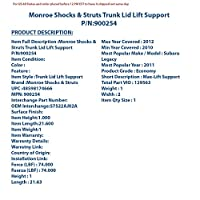 Monroe 900254 Max Lift Support