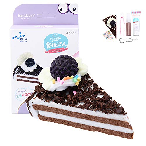 AVANI EXCHANGE Jandoon DIY Crystal Mud DIY Clay Simulated Chocolate Cake Toy Slime Squishy Bread Food Play Toy