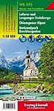 WK 393 Loferer und Leoganger Steinberge - Chiemgauer Alpen - Nationalpark Berchtesgaden, Wanderkarte 1:50.000: Wandel- en fietskaart 1:50 000 (freytag & berndt Wander-Rad-Freizeitkarten) - Freytag-Berndt und Artaria KG
