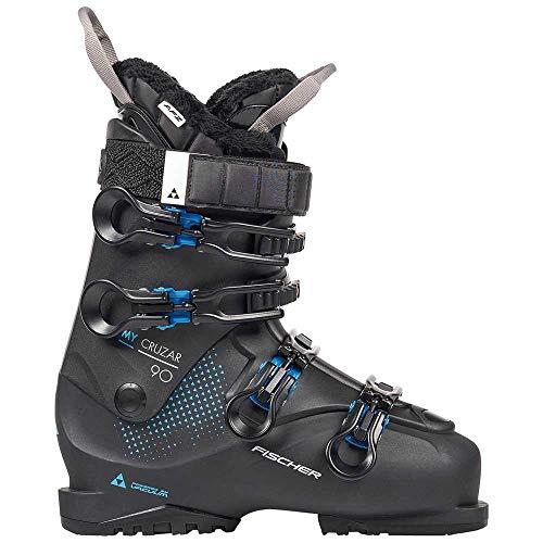 fischer Chaussures de Ski Unisexe pour Adulte Noir My CRUZAR 90 PBV, 23,5, 235