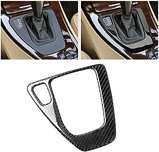 Carbon Fiber Car Control Gear Box Shift Panel Frame Cover Sticker for BMW E90 3 Series 2005-2012 318i 320i 325i 330i 335i