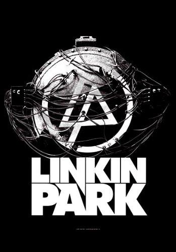 empireposter Linkin Park - Atomic Age - Posterflagge 100prozent Polyester - Grösse 75x110 cm