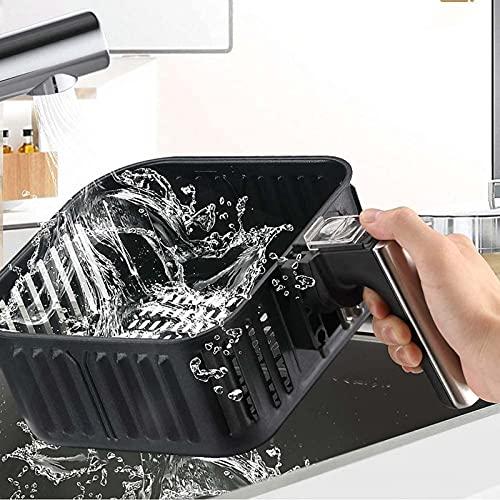 51W4ryM e6S. SL500  - XINGYU Luftfritteuse, 1500W elektrische Luftfritteuse mit digitalem LED-Touchscreen-Arbeitsplattenofen mit Dehydrator Rotisserie Fettarmes und ölfreies Abnehmen