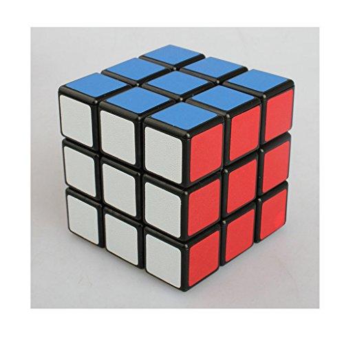 Ehao Nuevo! ! Kathrine 3x3x3 Speed Cube Puzzle 3x3, Negro
