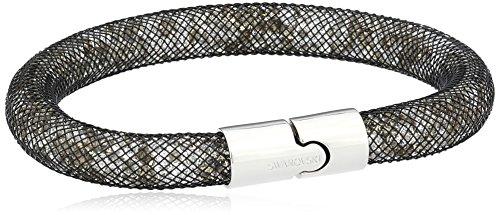 Swarovski Damen-Armband Metalllegierung Resin Glas grau 18.0 cm - 5102567