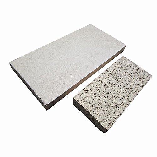Siena Home Schamotteplatte, 250 x 124 x 20 mm, bis 1250 Grad