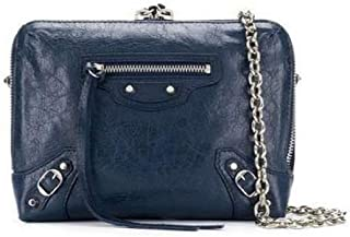 Luxury Fashion   Balenciaga Womens 500800D940N4030O Blue Shoulder Bag   Season Permanent