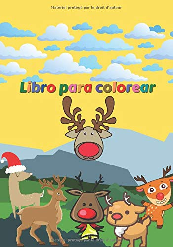 Libro para colorear: Cuaderno infantil - Libro de dibujo de Rennes