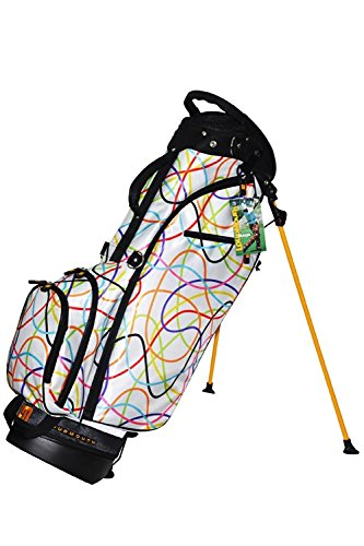 For Sale! Loudmouth Golf White Scribblz Stand Bag