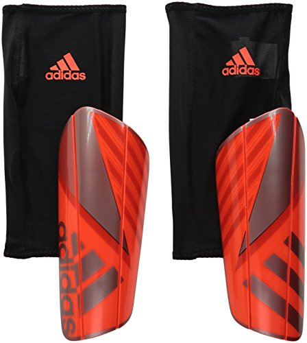 adidas Performance Ghost Pro Shin Guards, Solar Red/Iron Metallic Grey/Vivid Red, Medium