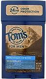 Tom's of Maine -Todo el desodorante Stick montaña primavera de larga duración todo Natur...