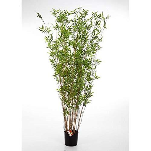 Bambú Artificial con 600 pequeñas Hojas, 70 cm - Bambú Artificial Planta Decorativa - artplants