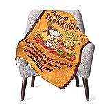 AEMAPE Snoopy Babydecke oder Flauschige Decke für Kinder Unisex-Decke für Kinderbett Couch Living Room Travel Superweiche warme Kinderdecke 50x40in-S8Z